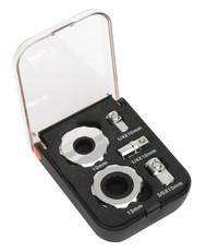 """Sealey AK6959 Palm Ratchet Set 5pc 1/4"""" & 3/8""""Sq Drive"""