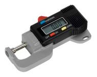 "Sealey AK9638D Digital External Micrometer 0-12.7mm(0-0.5"")"