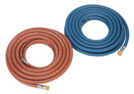 Sealey WH10 Welding Hose Set Oxyacetylene EN ISO 3821 10mtr