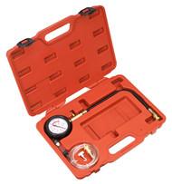 Sealey VSE3157 Diesel Compression Gauge, Hose & TDC Base Kit