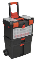 Sealey AP850 Mobile Tool Chest with Tote Tray & Removable Assortment Box