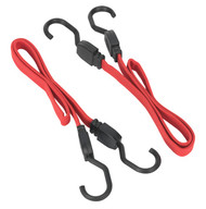 Sealey BCS17 Flat Bungee Cord Set 2pc 760mm