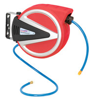 Sealey SA814 Retractable Air Hose Reel 15mtr 8mm ID - PU Hose