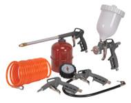 Sealey SA33G Air Accessory Kit 5pc