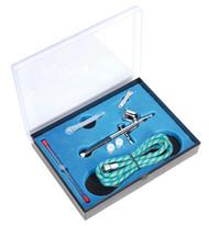 Sealey AB9321 Air Brush Kit Gravity Feed
