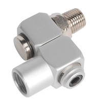"Sealey SA902 Z-Swivel Air Hose Connector 1/4""BSP"