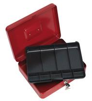 Sealey SCB4 Key Lock Cash Box 300 x 240 x 90mm