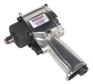 """Sealey SA203 Air Impact Wrench 1/2""""Sq Drive Compact Twin Hammer"""