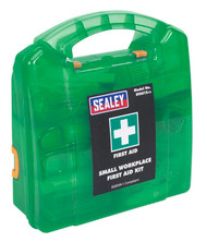 Sealey SFA01S First Aid Kit Small - BS 8599-1 Compliant