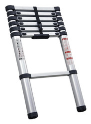 Sealey ATL07 Aluminium Telescopic Ladder 7-Tread EN 131