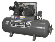 Sealey SAC32055B Compressor 200ltr Belt Drive 5.5hp