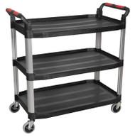 Sealey CX310 Workshop Trolley 3-Level Composite