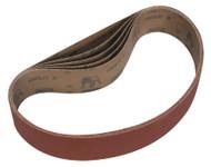 Sealey BG150B80G Sanding Belt 50 x 686mm 80Grit Pack of 5