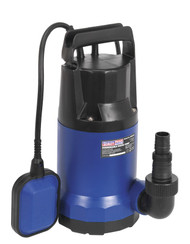 Sealey WPC250A Submersible Water Pump Automatic 250ltr/min 230V