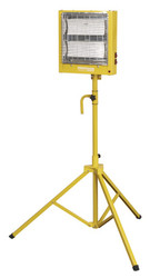 Sealey CH28110VS Ceramic Heater with Telescopic Tripod Stand 1.4/2.8kW 110V