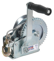 Sealey GWC1200M Geared Hand Winch 540kg Capacity with Cable
