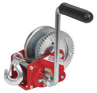 Sealey GWC1200B Geared Hand Winch with Brake & Cable 540kg Capacity