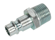 "Sealey AC83 Screwed Adaptor Male 3/8""BSPT Pack of 2"