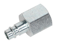 "Sealey AC86 Screwed Adaptor Female 1/2""BSP Pack of 2"
