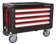 Sealey AP2401M Mobile Chest 4 Drawer with Ball Bearing Runners
