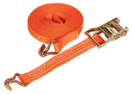 Sealey TD2010J Ratchet Tie Down 35mm x 10mtr Polyester Webbing 2000kg Load Test