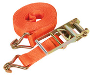 Sealey TD10008J Ratchet Tie Down 75mm x 8mtr Polyester Webbing 10000kg Load Test