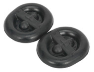 Sealey EX03 Exhaust Mounting Rubbers - L62 x D54 x H13.5 (Pack of 2)