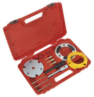 Sealey VSE5841A Diesel Engine Setting/Locking & Injection Pump Tool Kit - 2.0D, 2.2D, 2.4D Duratorq - Chain Drive