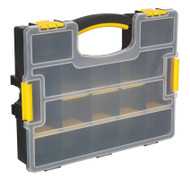 Sealey APAS15A Parts Storage Case with Removable Compartments - Stackable
