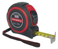 Sealey SMT8H Heavy-Duty Measuring Tape 8mtr(26ft)
