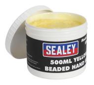 Sealey SSW05 Rapid-Response Beaded Hand Cleaner 500ml