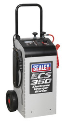 Sealey ECS350 Electronic Charger Starter 60/350A 12/24V