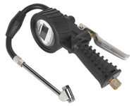 Sealey SA393 Digital Tyre Inflator with Twin Push-On Connector