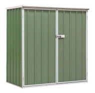 Sealey GSS150815G Galvanized Steel Shed Green 1.5 x 0.8 x 1.5mtr