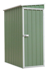Sealey GSS150819SDG Galvanized Steel Shed Green 1.5 x 0.8 x 1.9mtr