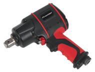 """Sealey SA6004 Air Impact Wrench 3/4""""Sq Drive Compact Twin Hammer"""