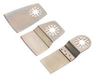 Sealey SMTA1 Multi-Tool Blade Set 3pc