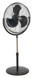 "Sealey HVF20P Industrial High Velocity Pedestal Fan 20"" 230V"
