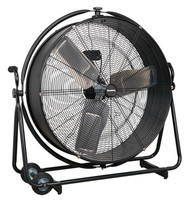 "Sealey HVF30S Industrial High Velocity Orbital Drum Fan 30"" 230V"