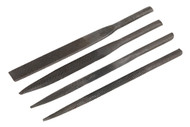 Sealey GSA345F Needle File Set 4pc for GSA345