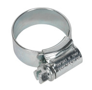 Sealey HCJ0X HI-GRIPå¬ Hose Clip Zinc Plated åø17-25mm Pack of 20