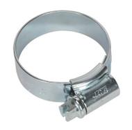 Sealey HCJ1 HI-GRIPå¬ Hose Clip Zinc Plated åø25-35mm Pack of 20