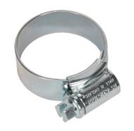 Sealey HCJ1A HI-GRIPå¬ Hose Clip Zinc Plated åø22-30mm Pack of 20