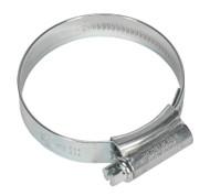Sealey HCJ2 HI-GRIPå¬ Hose Clip Zinc Plated åø40-55mm Pack of 20