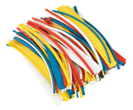 Sealey HST200MC Heat Shrink Tubing Mixed Colours 200mm 100pc