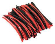 Sealey HST200BR Heat Shrink Tubing Black & Red 200mm 100pc