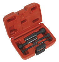 Sealey AK752 Screw Extractor Set 5pc Double Edge