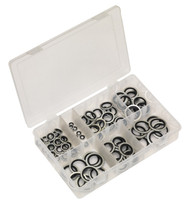 Sealey AB011DS Bonded Seal (Dowty Seal) Assortment 84pc - BSP