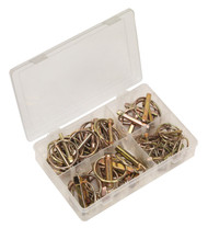 Sealey AB022LP Linch Pin Assortment 50pc Metric