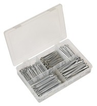 Sealey AB003SP Split Pin Assortment 230pc Large Sizes Imperial & Metric